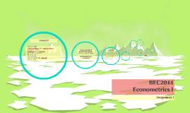 BEC2044 Econometrics I