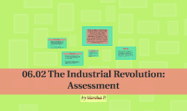 06.02 The Industrial Revolution: Assessment