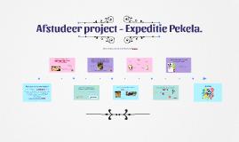 Afstudeer project - Expeditie Pekela