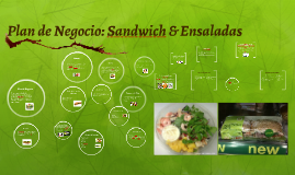 Copy of Plsn de Negocio: Sandwich & Ensaladas