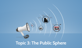 Topic 3: The Public Sphere