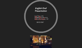 English Oral Presentation