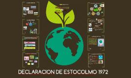 CONVENIO DE ESTOCOLMO 1972