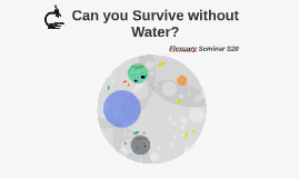 Can you Survive without Water?