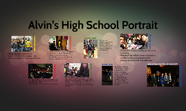 Alvin's High School Portrait