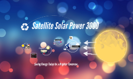 Satellite Solar Power 3000