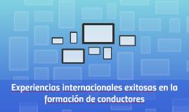 Experiencias internacionales exitosas en la formación de con