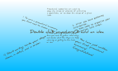 Creating Precedural Summary