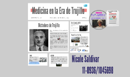 Medicina en la Era de Trujillo