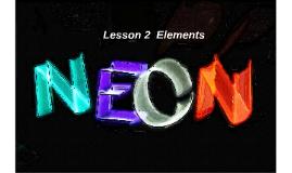 Lesson 2  Elements