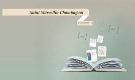 Saint Marcellin Champagnat