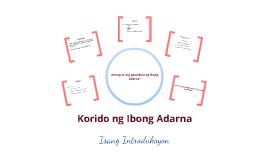 Copy of Korido ng ibong adarna