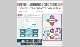 CONTROL DE LA ENFERMEDAD DE CARIES SEGÚN RIESGO CARIOGÉNICO