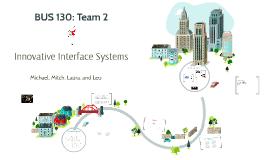 BUS 130: Team Project (IIS)