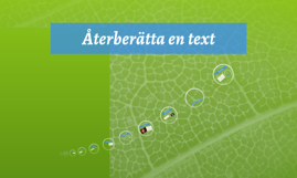 Copy of Återberättande text-