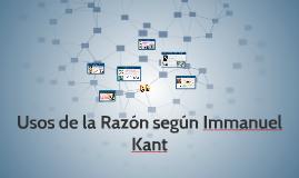 Usos de la Razón según Immanuel Kant