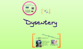 Dysentery Problem in the World