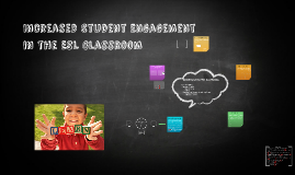 Increased Student Engagement in the ESL Classroom