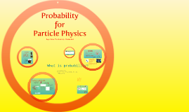 Probability for Particle Physics