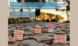 Il latino prima del latino: un panorama