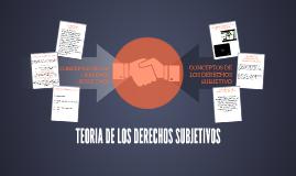 Copy of TEORIA DE LOS DERECHOS SUBJETIVOS
