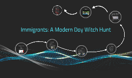 Immigrants: A Modern Day Witch Hunt