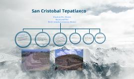 Zona Arqueologica Del Estado De Puebla: San Cristobal Tepatlaxco