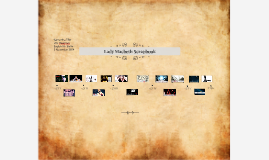 Lady Macbeth Scrapbook