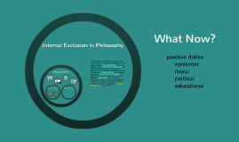 Philosophy and Inclusion