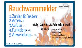Rauchwarnmelder 2013