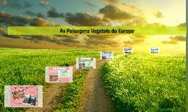 As paisagens vegetais da Europa