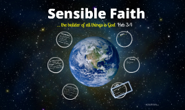 Copy of Sensible Faith 1