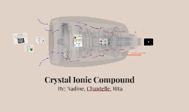 Crystal Ionic Compound