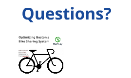 Optimizing Boston's Bike Sharing System