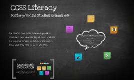 Copy of CCSS Literacy Presentation