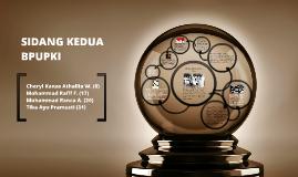 Copy of SIDANG KEDUA BPUPKI