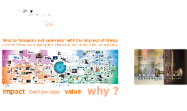 2015 Internet of Things innovation and disruption from a human perspective