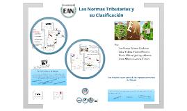 Copy of Las Normas Tributarias y su Clasificación