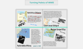 Turning Points of WWI