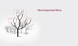Most Important Ideas
