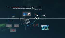 Revisión de especies de tiburones datados del año 1974 a la