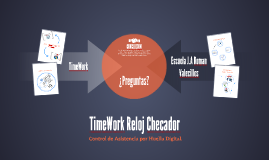 TimeWork Reloj Checador