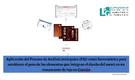 Investigación sobre los elementos de diseño en la carta de l