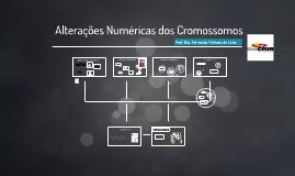 Alterações Numéricas dos Cromossomos
