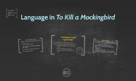 Language in To Kill a Mockingbird