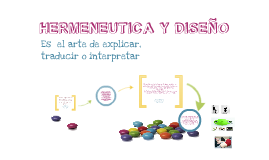 hermeneutica y diseño