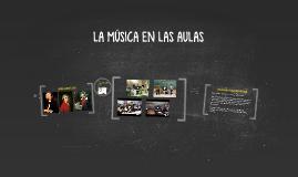 La música en las aulas