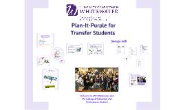 Transfer Plan-It Purple