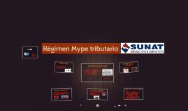 Copy of Regimen Mype tributario del Impuesto a la renta