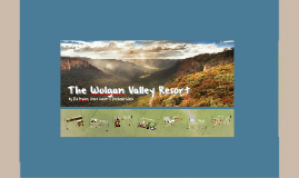 The Wolgan Valley Resort